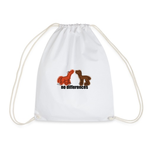 fuchs+hund, fox+dog - Turnbeutel