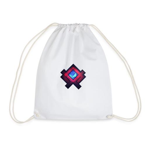 Abstract Square #2 - Drawstring Bag