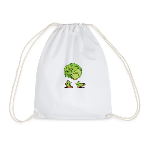 Lettuce Move On - Drawstring Bag