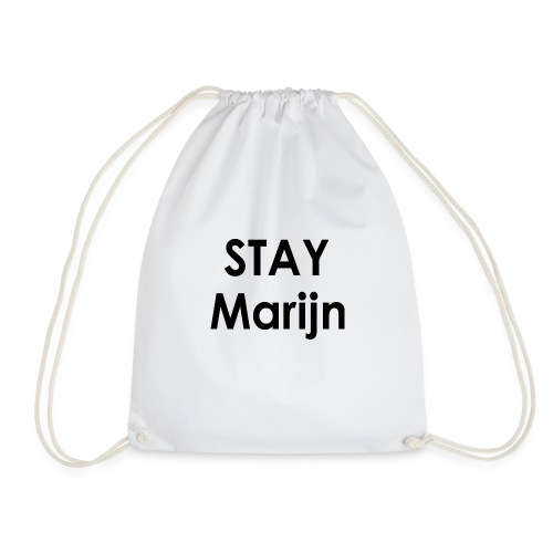 stay marijn black - Gymtas