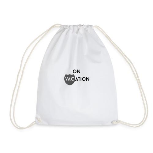 On VACation - Drawstring Bag