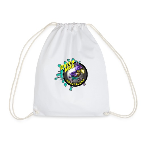 Raven Mad About Rugby - Drawstring Bag