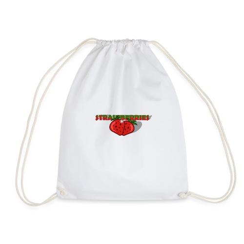 Strawberries - Gymnastikpåse