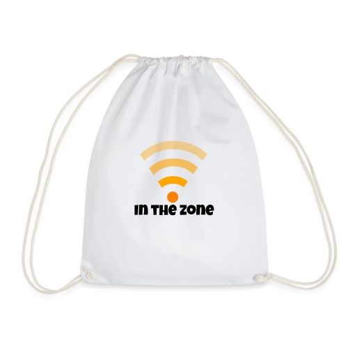 In the zone women - Drawstring Bag