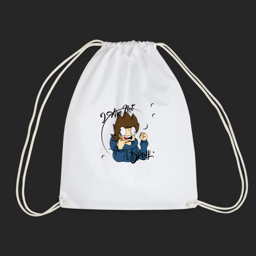 I Am Not Okay With This Mug - Drawstring Bag