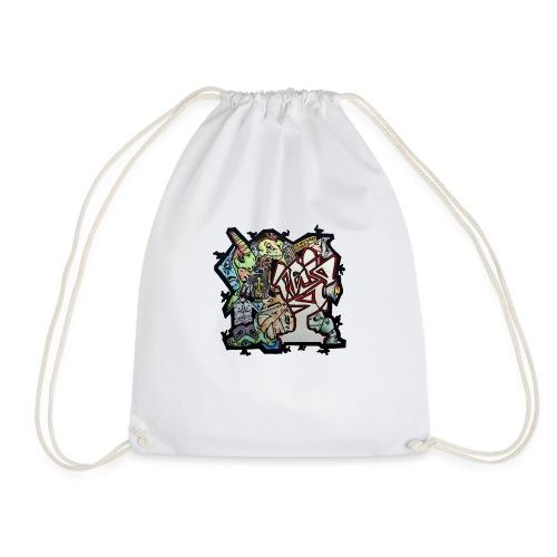 Connections - Drawstring Bag
