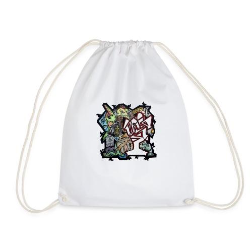 Transparent Connections - Drawstring Bag