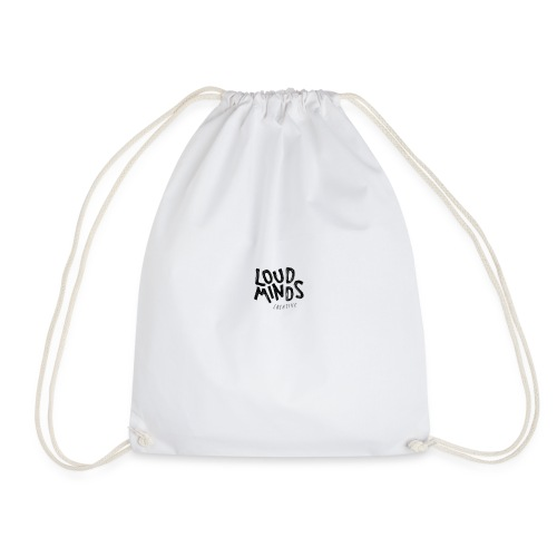 Loud Minds Creative - White edition - Drawstring Bag