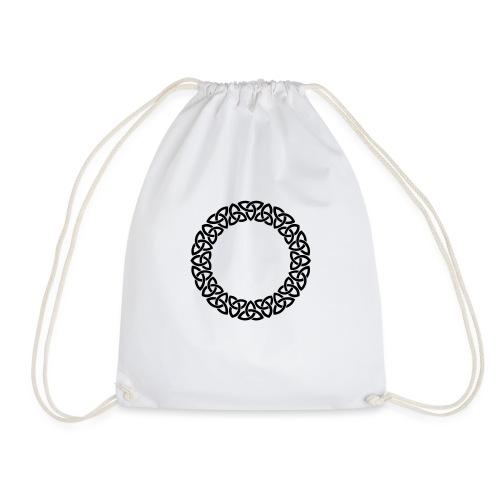 Triskele Circle - Drawstring Bag