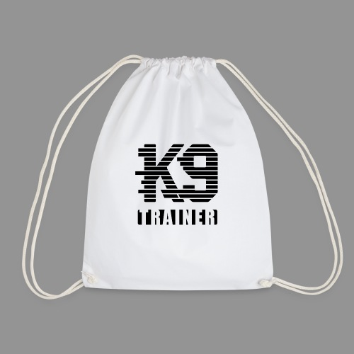 k9-trainer - Drawstring Bag