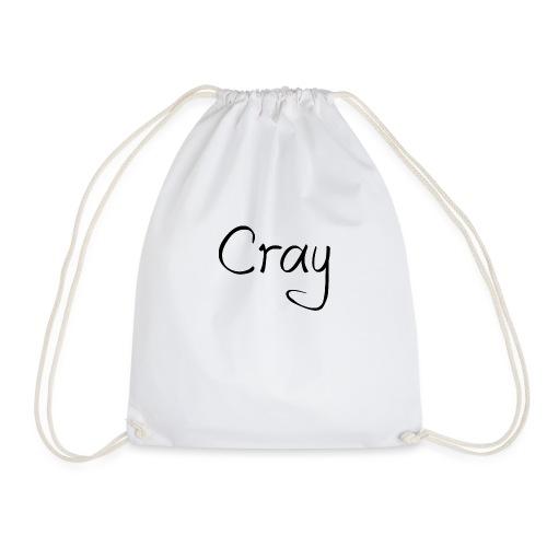 Cray Black Schrifft - Turnbeutel