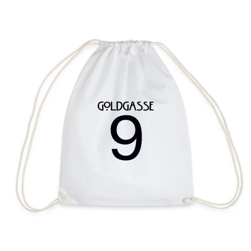 Goldgasse 9 - Back - Drawstring Bag