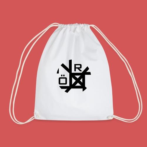 Nörthstat Group™ TecH   iCon - WHT.Knapsack - Drawstring Bag