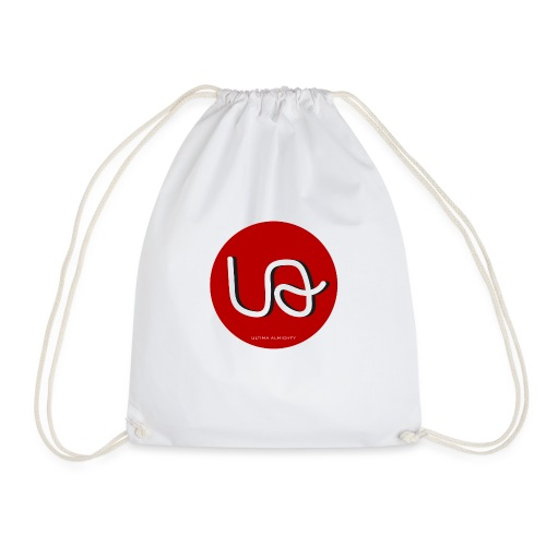 UltimaAlmighty T-Shirt Red Circle Female - Drawstring Bag