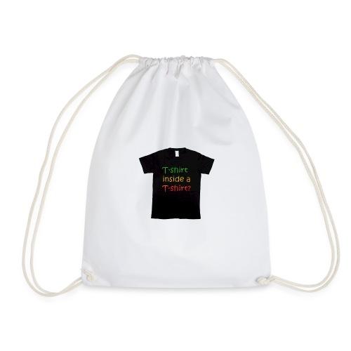 mars-one-drawing-tshirt-black - Sportstaske