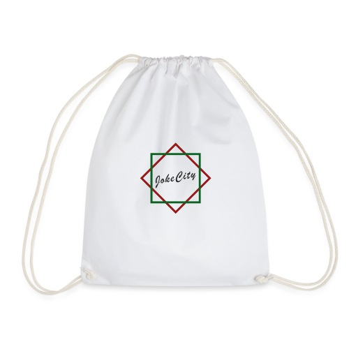 joke city logo - Drawstring Bag