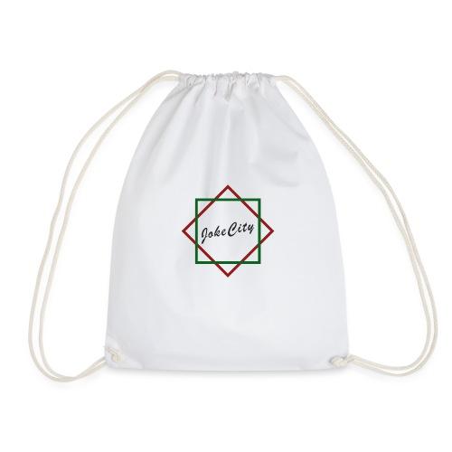 joke city logo - Drawstring Bag