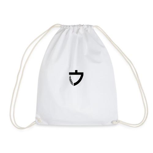 Caelus White hoodie - Drawstring Bag