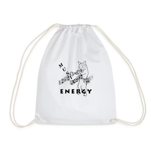 Music-Is-Energy - Drawstring Bag