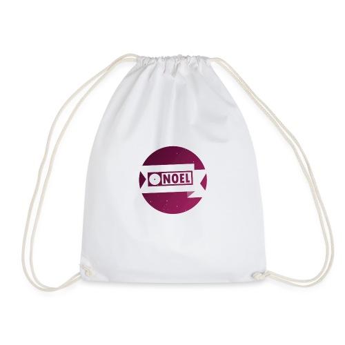 Round, Pink [N] - Drawstring Bag