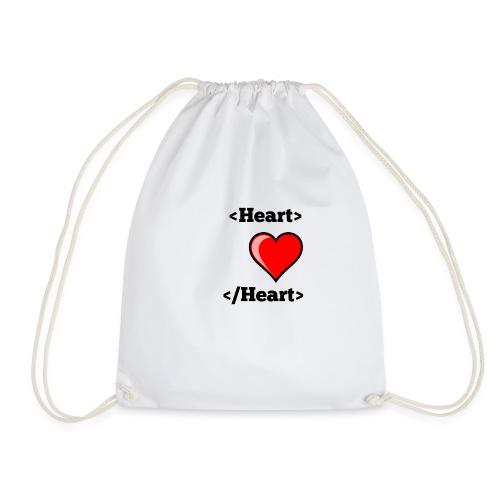 Html Heart - Sac de sport léger