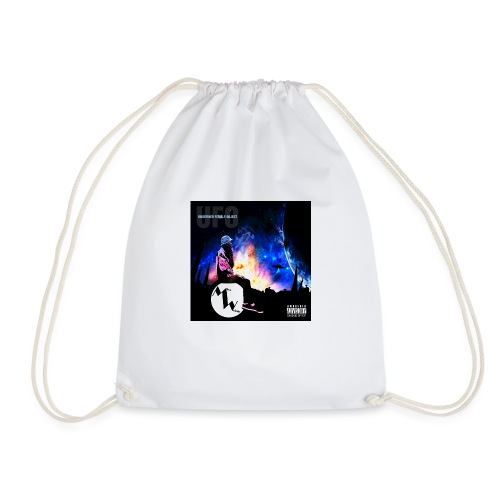 Miss Weirdy UFO Hoodie - Drawstring Bag