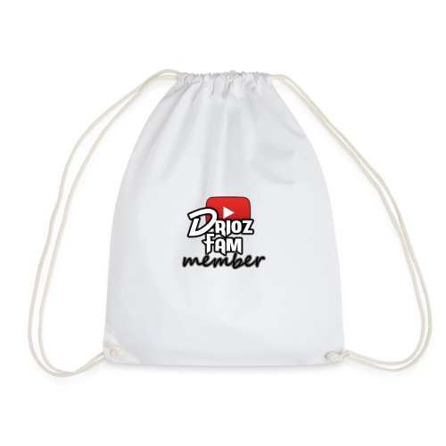 DriozFam Member Merch - Drawstring Bag
