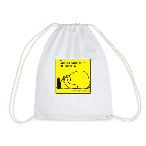 Great Master of Siesta - Drawstring Bag