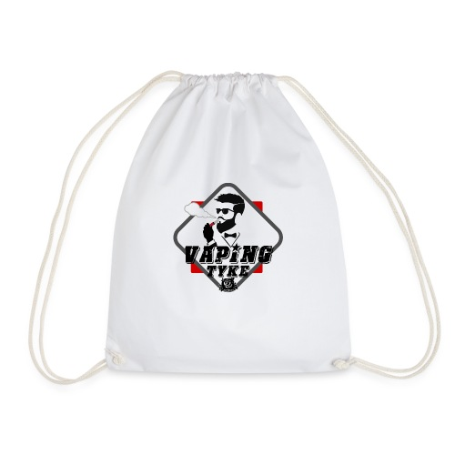 the Vaping tyke - Drawstring Bag