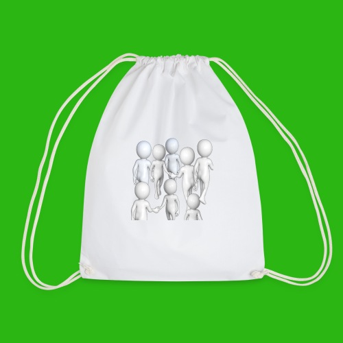 It s Nice to be Nice - Drawstring Bag