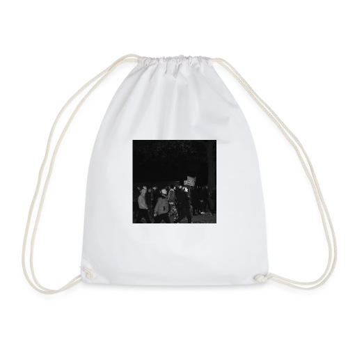 MILLION MASK MARCH 1 - Drawstring Bag
