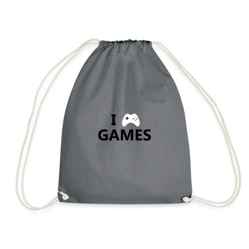 I Love Games - Mochila saco