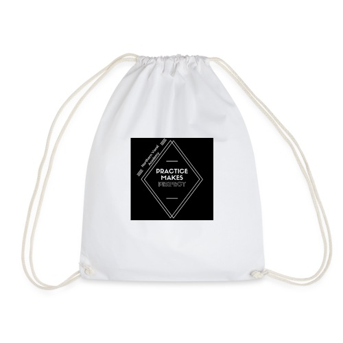 Practice Makes Perfect - Drawstring Bag