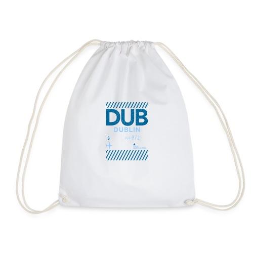 Dublin Ireland Travel - Drawstring Bag