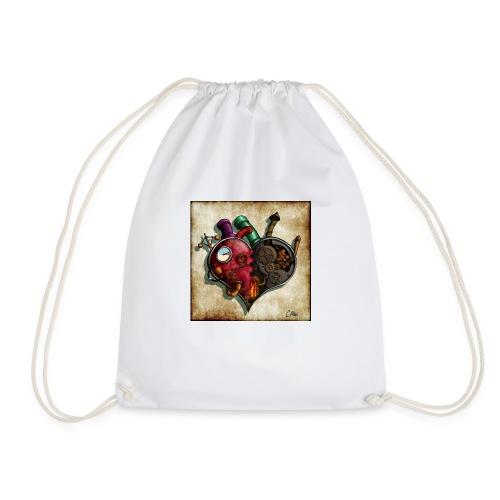 The Clockwork Heart - Drawstring Bag