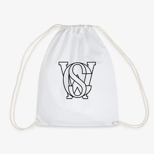 SCW Logo schwarzer rand only schwarzer Rand only - Turnbeutel