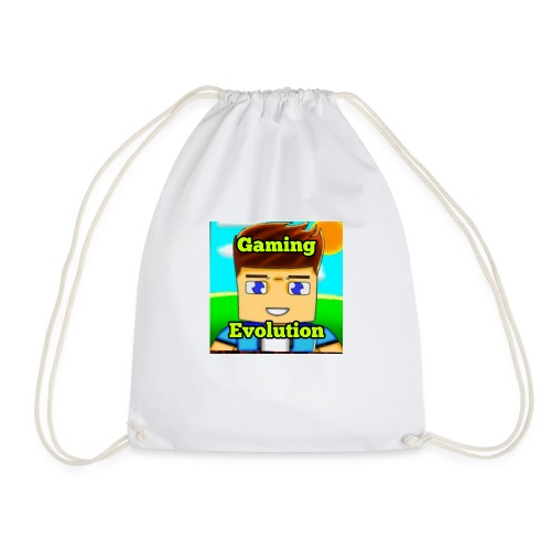 me while gaming - Drawstring Bag