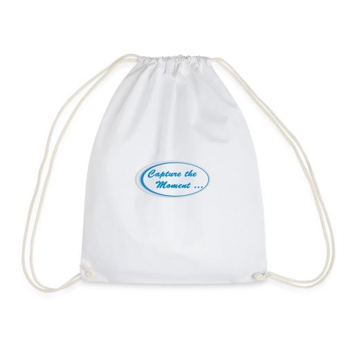 Logo capture the moment - Drawstring Bag