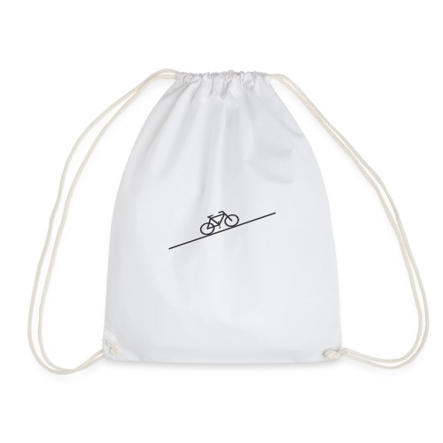bike_climb.png - Drawstring Bag