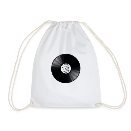 Vinyl record - Drawstring Bag