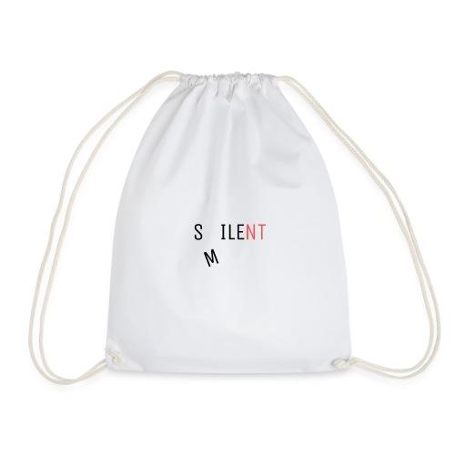 Silent Smile - Drawstring Bag