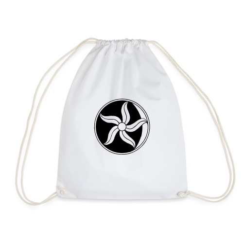 Moon Flower - Drawstring Bag