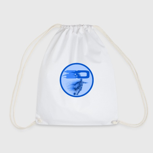 JR Footballers Logo Round - Drawstring Bag