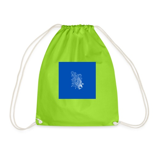 Windy Wings Blue - Drawstring Bag