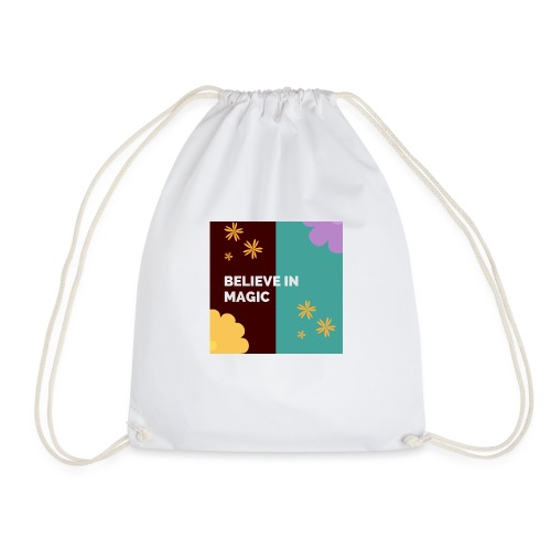 believe in magic xx - Drawstring Bag