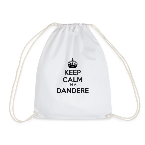 Dandere keep calm - Drawstring Bag