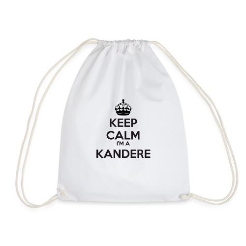 Kandere keep calm - Drawstring Bag