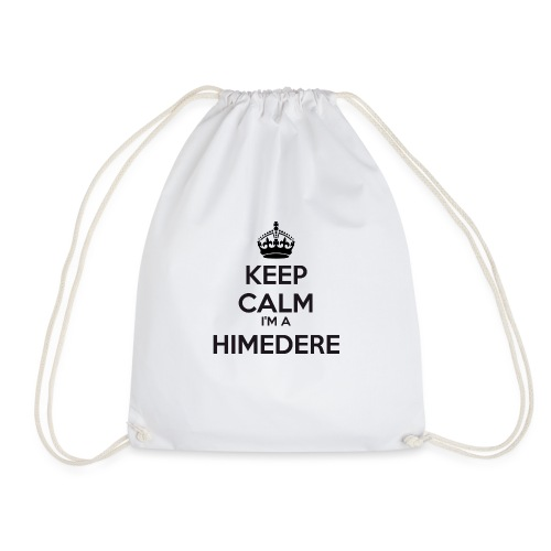 Himedere keep calm - Drawstring Bag
