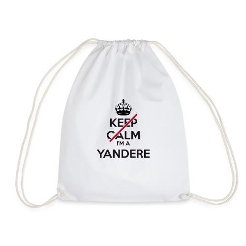 Yandere don't keep calm - Drawstring Bag