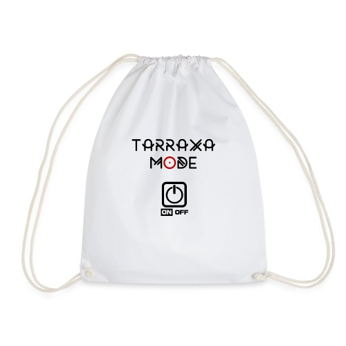 Tar Mode Black png - Drawstring Bag
